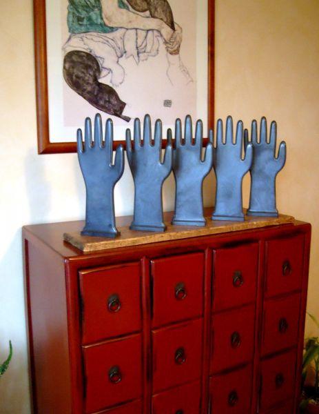 b66d4a8cf6a157 Série moule à gants range-livres dans OBJETS,DECO... s7304322